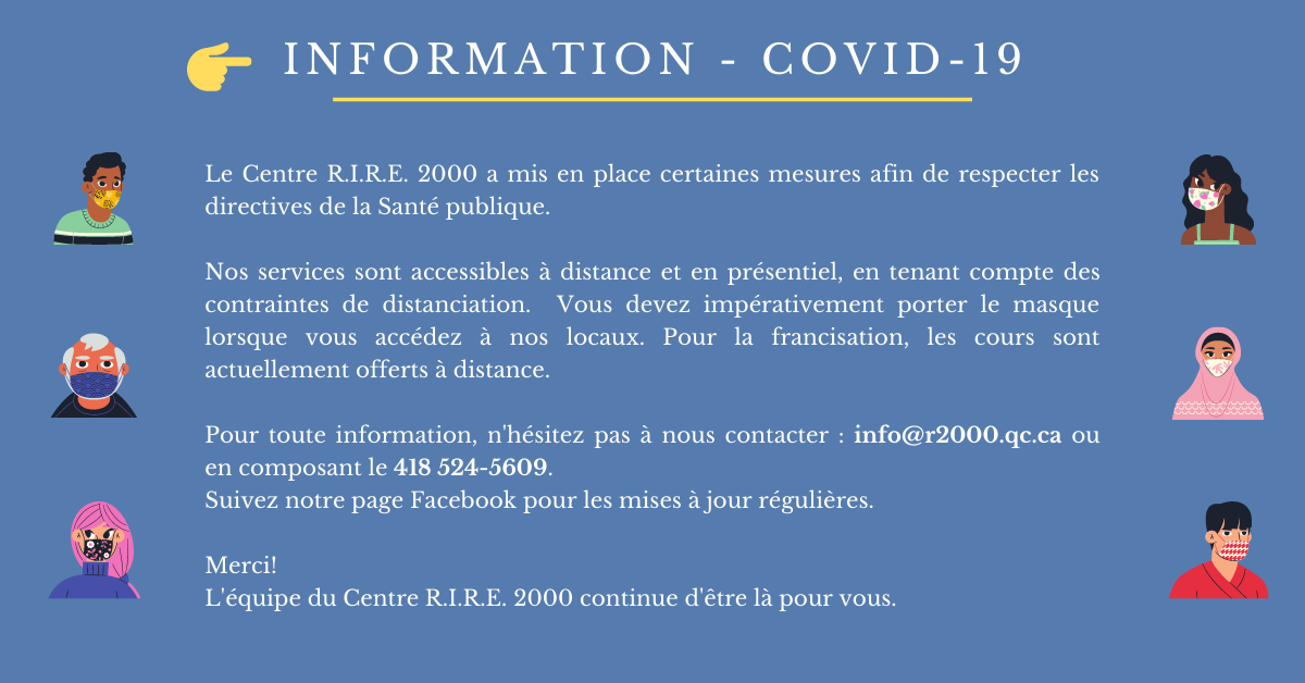 Copie de INFORMATION COVID 19 3